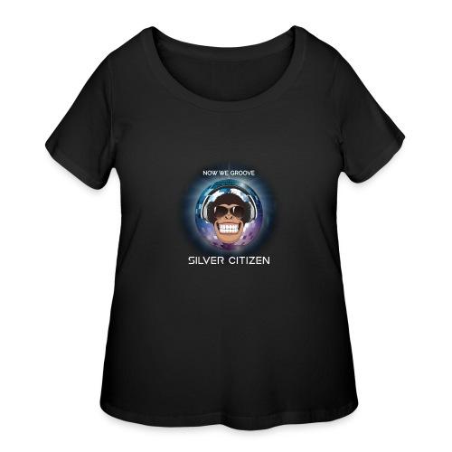 New we groove t-shirt design - Women's Curvy T-Shirt