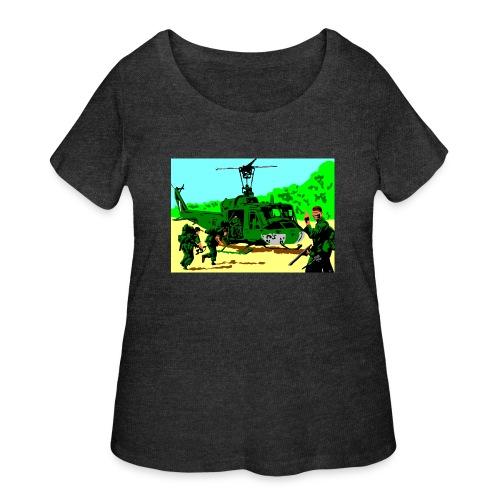 ANZAC - Women's Curvy T-Shirt