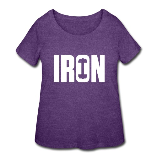 IRON WEIGHTS - Women's Curvy T-Shirt