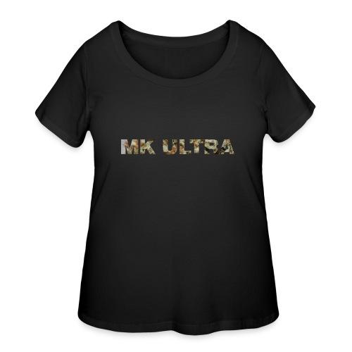 MK ULTRA.png - Women's Curvy T-Shirt