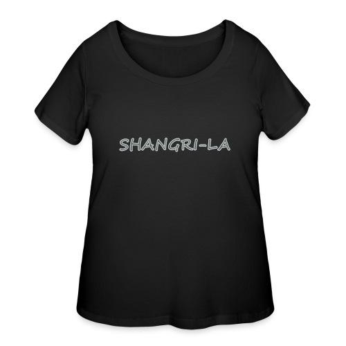 Shangri La silver - Women's Curvy T-Shirt