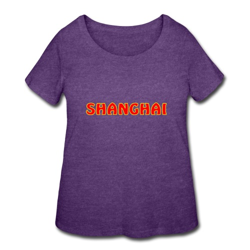 Shanghai - Women's Curvy T-Shirt