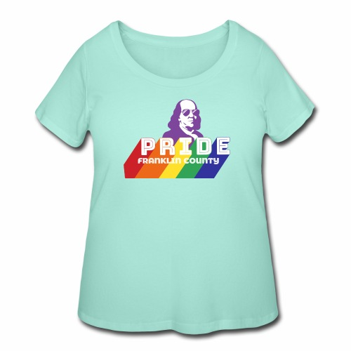 Pride SQ - Women's Curvy T-Shirt
