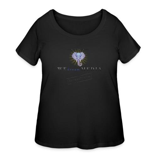 pro_logo_png_444444 - Women's Curvy T-Shirt