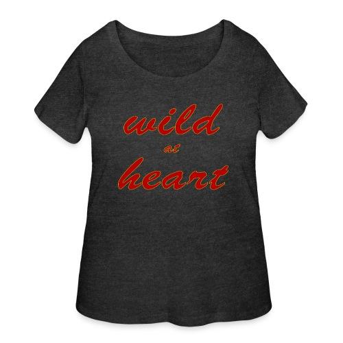 wild at heart - Women's Curvy T-Shirt
