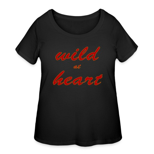 wild at heart - Women's Curvy T-Shirt