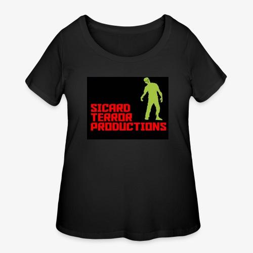 Sicard Terror Productions Merchandise - Women's Curvy T-Shirt