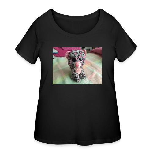 Jordayne Morris - Women's Curvy T-Shirt