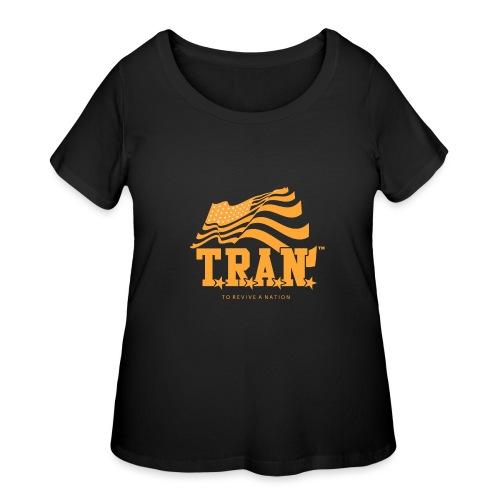 TRAN Gold Club - Women's Curvy T-Shirt