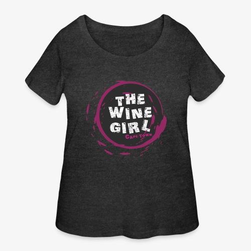 The Wine Girl - Women's Curvy T-Shirt