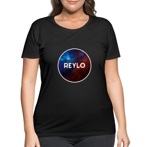 Reylo Blue and Red - Women's Curvy T-Shirt