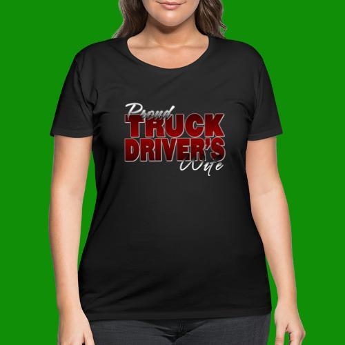 Proud Truck Driver's Wife - Women's Curvy T-Shirt