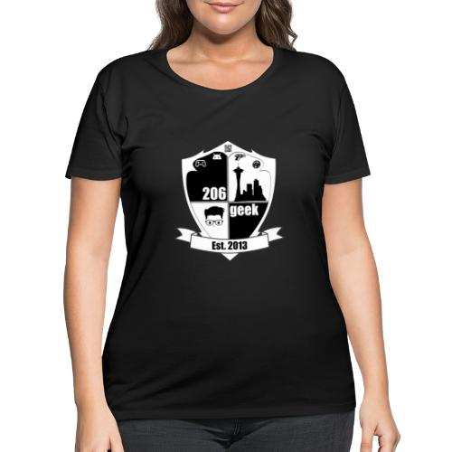 206geek podcast - Women's Curvy T-Shirt