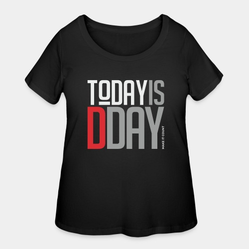 today day important - Women's Curvy T-Shirt
