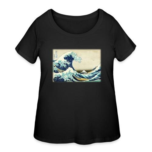 Great Wave off Kanagawa - Women's Curvy T-Shirt