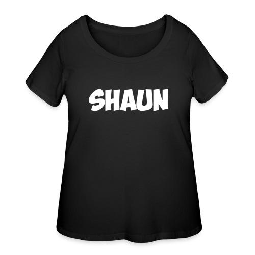 Shaun Logo Shirt - Women's Curvy T-Shirt