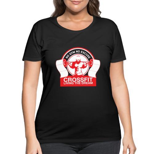 Toilet Paper - Women's Curvy T-Shirt