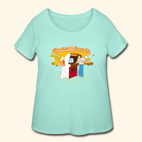 Master of the Arcade - Women's Curvy T-Shirt