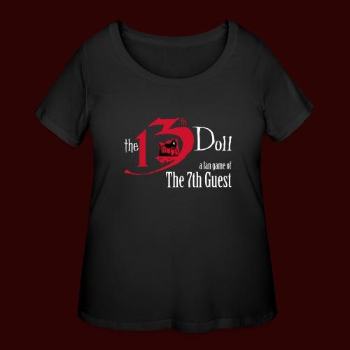 The 13th Doll Logo - Women's Curvy T-Shirt