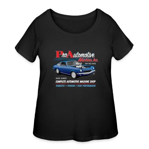 ProAutoTeeDesign062317fin - Women's Curvy T-Shirt