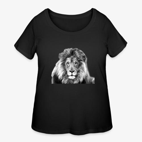 LION-7 - Women's Curvy T-Shirt