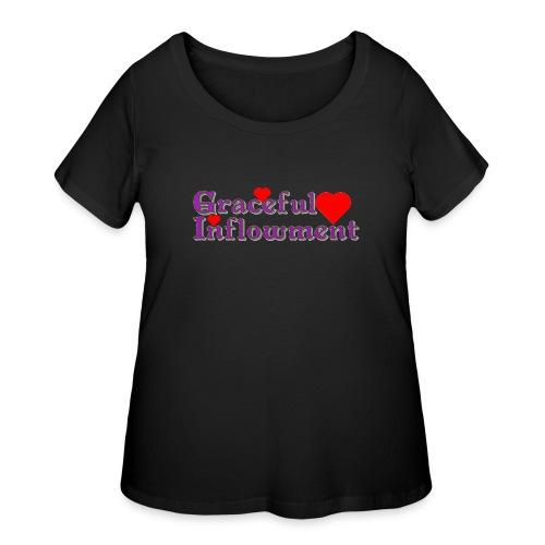 Graceful Inflowment - Women's Curvy T-Shirt