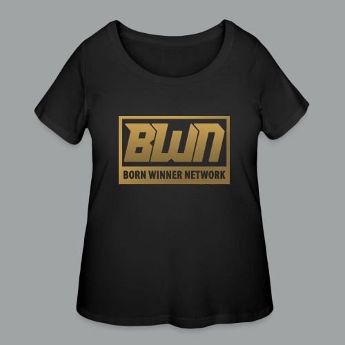 BWN (Gold) - Women's Curvy T-Shirt