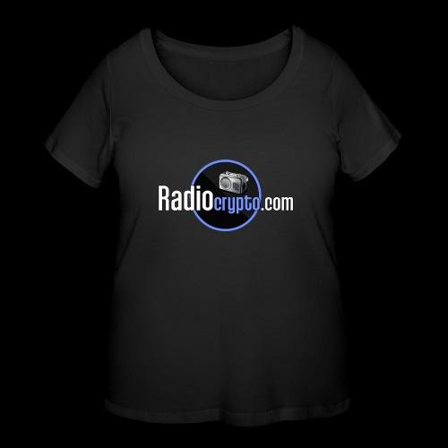 RadioCrypto Logo 1 - Women's Curvy T-Shirt