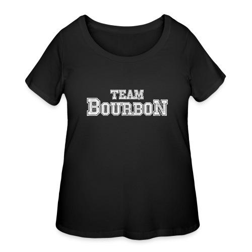 Team Bourbon - Women's Curvy T-Shirt