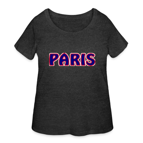 Paris - Women's Curvy T-Shirt
