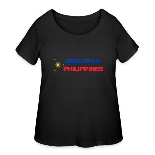 Philippines - Women's Curvy T-Shirt