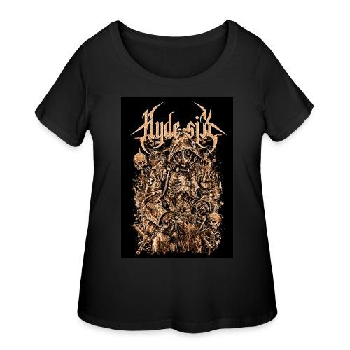 Hyde six - Women's Curvy T-Shirt