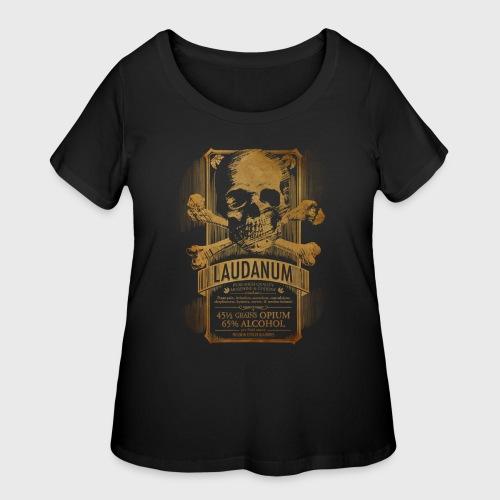 Laudanum Goth Steampunk Medical Doctor - Women's Curvy T-Shirt