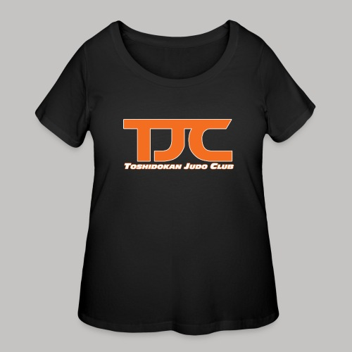 TJCorangeBASIC - Women's Curvy T-Shirt