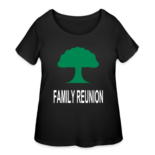 ***12% Rebate - See details!*** FAMILY REUNION add - Women's Curvy T-Shirt