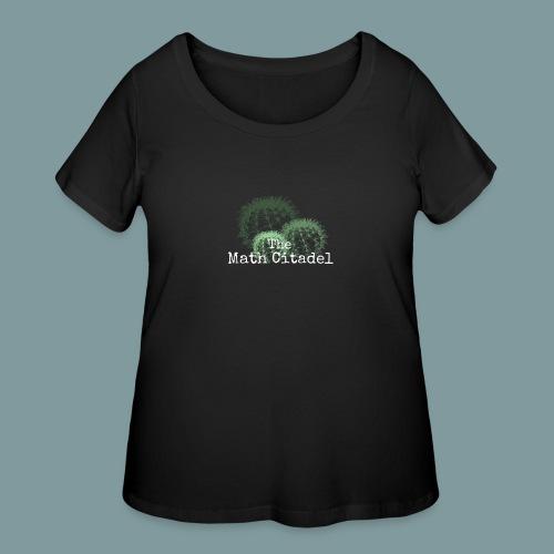 Math Citadel Cactus Trio - Women's Curvy T-Shirt