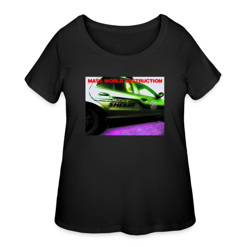 Walla Walla Police Department - Women's Curvy T-Shirt