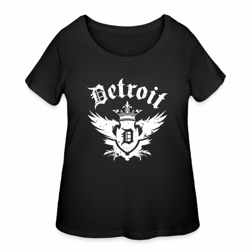 DETROIT ROYALTY - Women's Curvy T-Shirt
