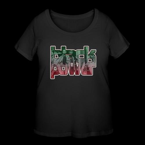 Black Power - Women's Curvy T-Shirt
