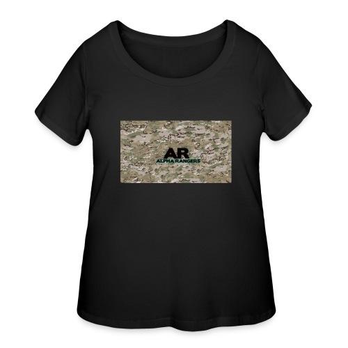Alpha Ranger Apperal - Women's Curvy T-Shirt