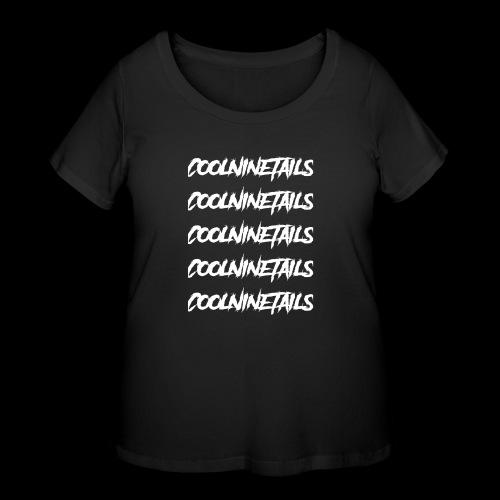 Multi Name - Women's Curvy T-Shirt