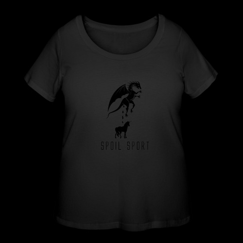 Spoil Sport - Women's Curvy T-Shirt