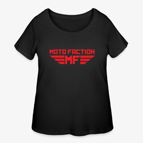 MotoFaction Logo - Women's Curvy T-Shirt