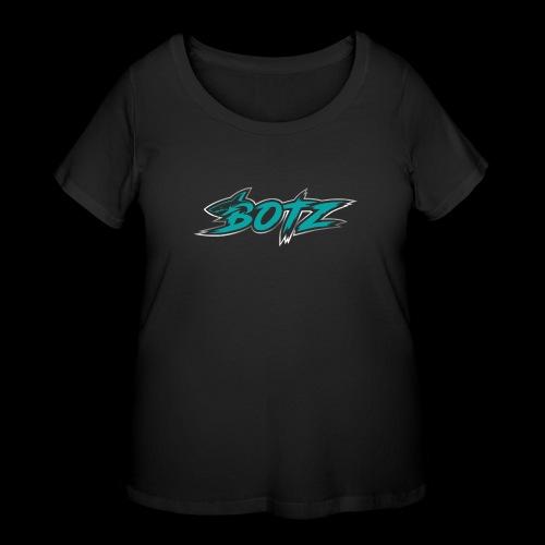 BOTZ Teal Logo - Women's Curvy T-Shirt