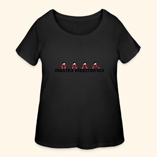 Música Electrónica - Women's Curvy T-Shirt