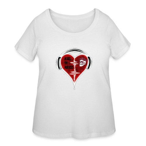 Axelofabyss Music in your heart - Women's Curvy T-Shirt