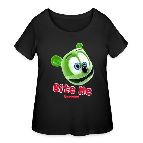 Bite Me - Women's Curvy T-Shirt
