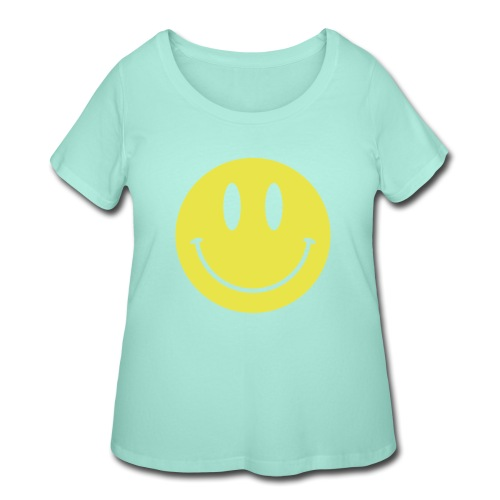 Smiley - Women's Curvy T-Shirt