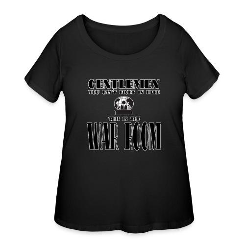 gentlemenwarroom - Women's Curvy T-Shirt