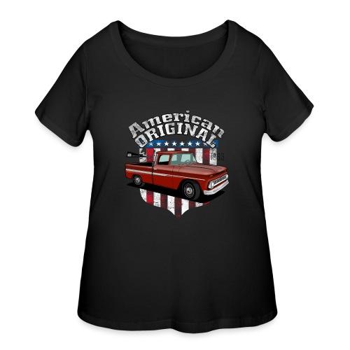 American Original RED - Women's Curvy T-Shirt